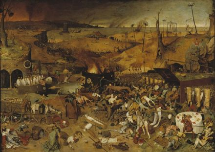 Bruegel the Elder, Pieter: The Triumph of Death. Fine Art Print/Poster. Sizes: A4/A3/A2/A1 (00239)